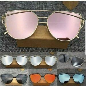 Accessories - New KYLIE Cat Eye Mirrored Sunglasses